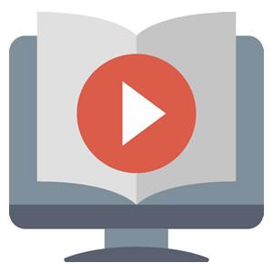 <em>Vídeos e treinamento</em><br><b>Serviço</b>